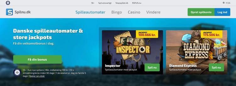Danske spilleautomater & store jackpots